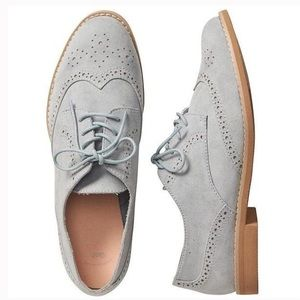 GAP Light Gray Oxford Shoes